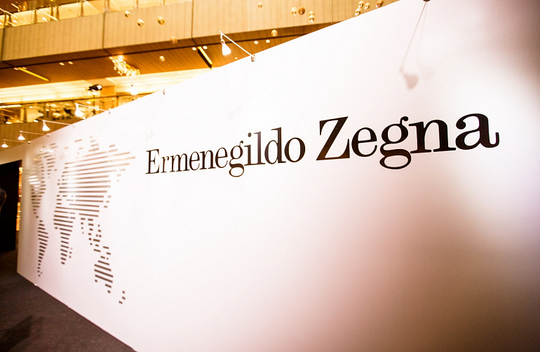 Ermenegildo Zegna Launches Flagship Boutique in Paragon
