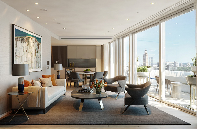 Land Securities Launches Luxury Apartments in London